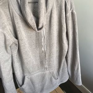 BP hoodless hoody with a cozy neck line